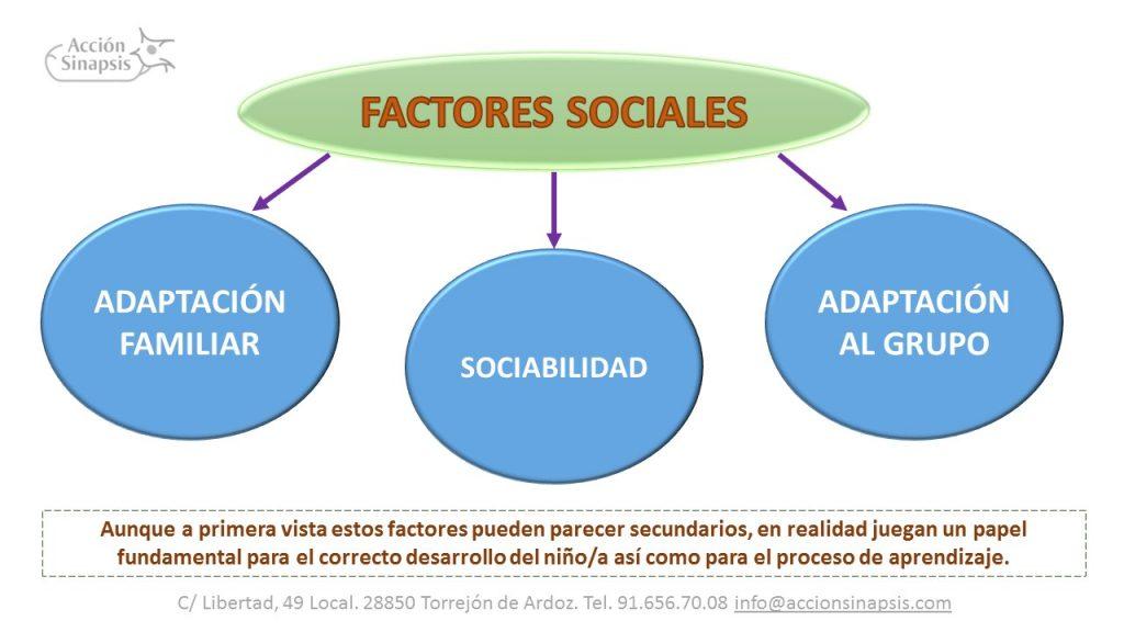 3. Factores sociales