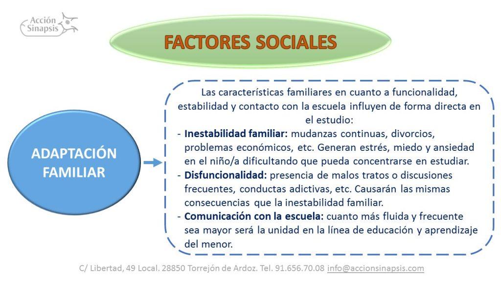 4. Factores sociales I
