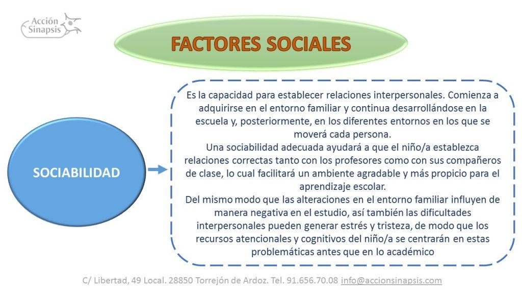 5. Factores sociales II