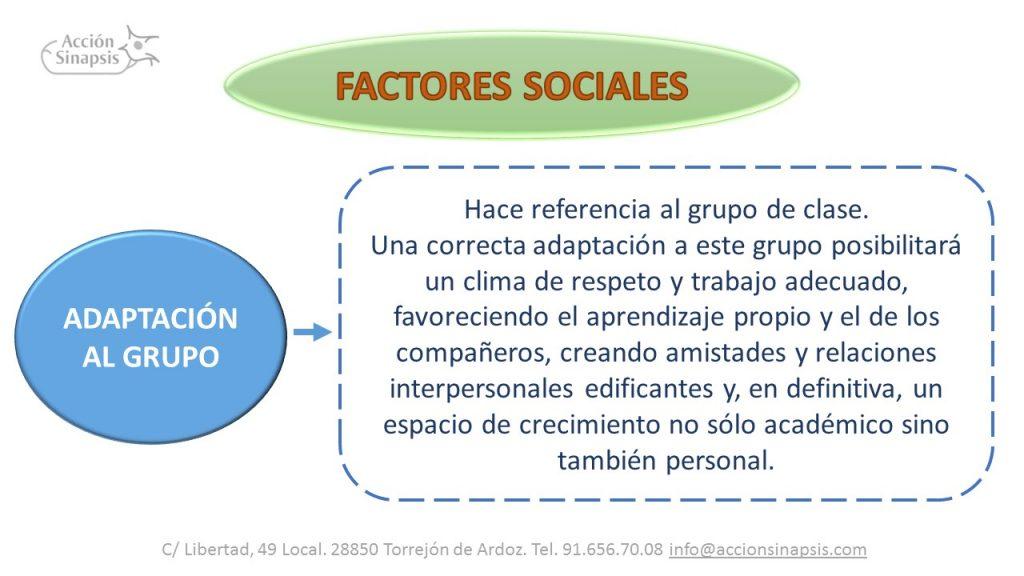 6. Factores sociales III